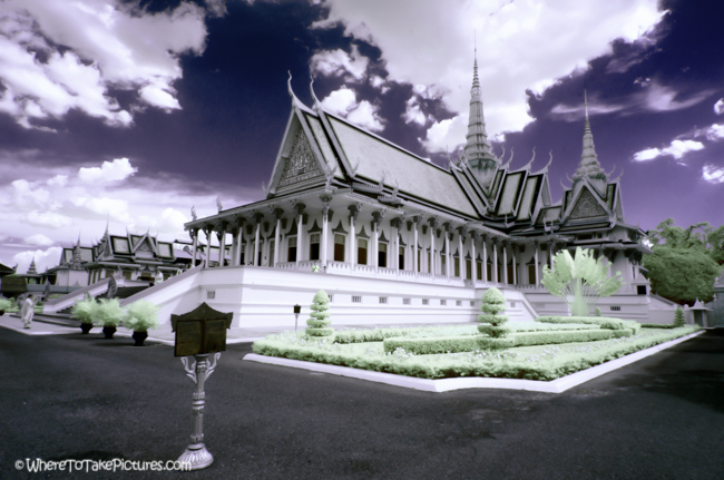 Royal Palace Infrared