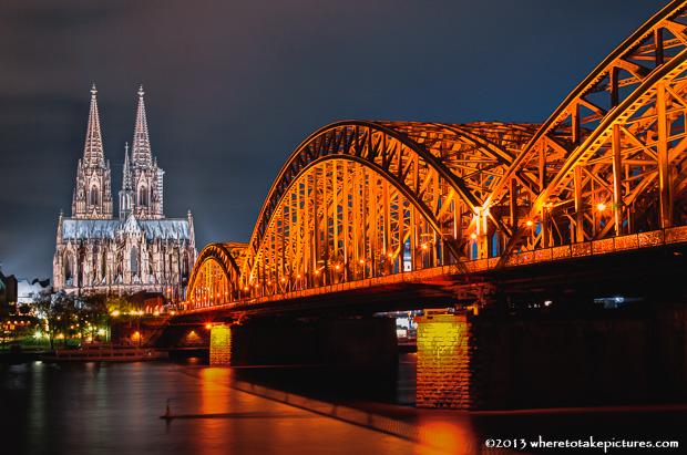 Hohenzollernbrücke, Köln, GERMANY